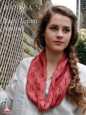 Rowan Creative Linen Lacy Linen Snood Kit - Scarf and Shawls