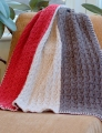 Plymouth Yarn Homestead Vertical Stripe Throw and Afghan