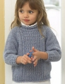 Plymouth Yarn Encore Chunky Child's Aran Sweater  Kit