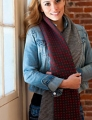 Plymouth Yarn Cashmere Passion Half and Half Tube Scarf Kit