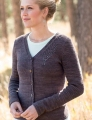 Swans Island Natural Colors Worsted Remington Cardigan Kit