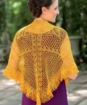 Madelinetosh Prairie Triangle Shawl Kit - Scarf and Shawls