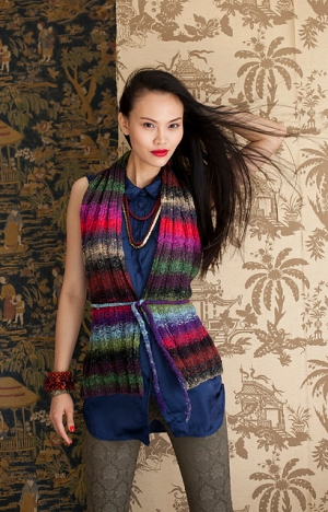 Noro Taiyo Open Back Vest  Kit - Vests