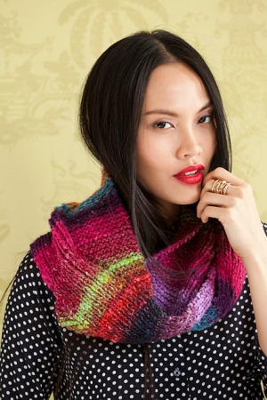 Noro Obi Sinuous Cowl Kit - Scarf and Shawls