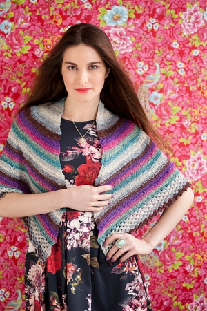 Noro Koromo Garter Ridge Shawl Kit - Scarf and Shawls