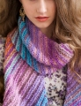 Noro Silk Garden Bias-Knit Scarf Kit