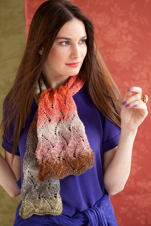 Noro Silk Garden Lite Lace Scarf Kit - Scarf and Shawls