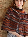 Noro Silk Garden Sock Chevron Cape Kit