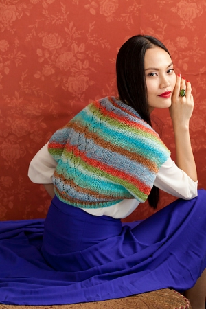 Noro Ayatori Twig Lace Shrug Kit - Scarf and Shawls