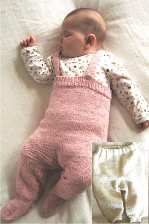 Knitting Pure and Simple Baby & Children Patterns - 0262 - Baby Bottoms Pattern