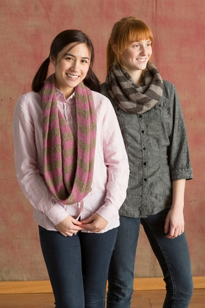 Classic Elite Vail Dancette Scarf Kit - Scarf and Shawls