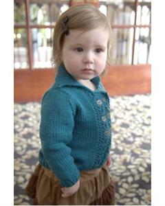 Plymouth Yarn Baby & Children Patterns - 2829 Double Breasted Baby Cardigan Pattern