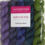 SweetGeorgia CashLuxe Spark Party of Five Mini-Skein Set Yarn