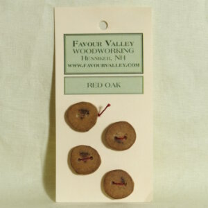 Favour Valley Woodworking Wood Buttons