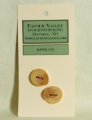 Favour Valley Woodworking Wood Buttons - Spruce - Medium (2 button card)