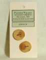 Favour Valley Woodworking Wood Buttons - Spruce - Large (2 button card)
