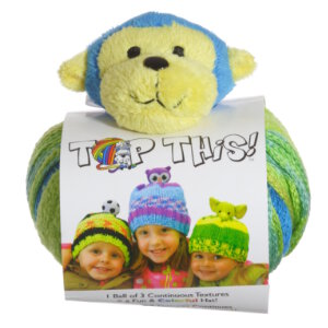 DMC Creative World Top This! Yarn - Monkey