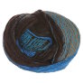 Trendsetter Frontier Yarn - 144 Turquoise with Brown