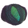 Trendsetter Frontier Yarn - 363 Lime/Green/Turquoise with Eggplant