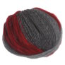 Trendsetter Frontier Yarn - 879 Grey/Charcoal with Wine