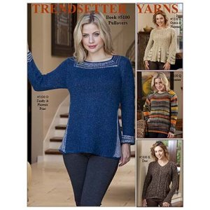 Trendsetter Pattern Books - 5100 Pullovers