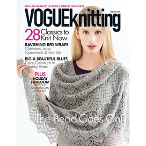 Vogue Knitting International Magazine - '15 Holiday