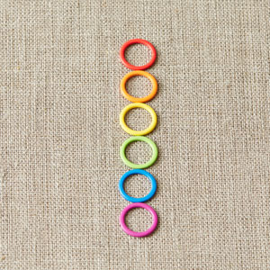 cocoknits Maker's Keep Accessories - Colorful Ring Stitch Markers - Original