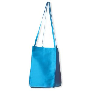 Lantern Moon Small Silk Taffeta Bag - Turquoise