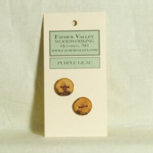Favour Valley Woodworking Buttons - Wood Buttons
