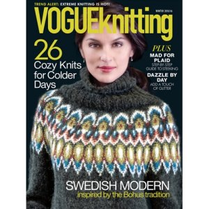 Vogue Knitting International Magazine - '15/16 Winter