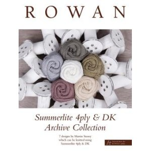 Rowan Pattern Books - Summerlite 4ply & DK Archive Collection
