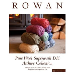 Rowan Pattern Books - Pure Wool Superwash DK Archive Collection