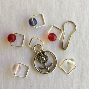 Jimmys Pick - Wildflowers-Inspired Stitch Markers from Spark!