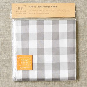 Cocoknits - Check Your Gauge Cloth