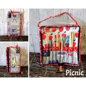 Chicken Boots DPN/Crochet Hook Case