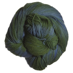 Swans Island Natural Colors Fingering Yarn - *Special Edition: Ikat Indigo/Teal