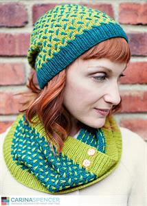 Carina Spencer Patterns - Opposite Day Cowl
