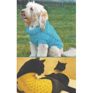 Skacel Collection, Inc. Patterns - Bejuled Pet Sweater