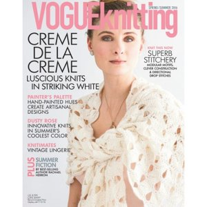 Vogue Knitting International Magazine - '16 Spring/Summer