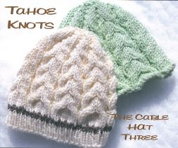 Tahoe Knots Patterns - Cable Hat Three (Discontinued) Pattern