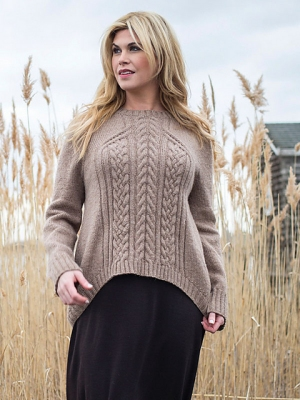 Berroco Ultra Alpaca Chunky Kernmantle Sweater Kit - Women's Pullovers