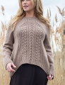 Berroco Ultra Alpaca Chunky Kernmantle Sweater Kit