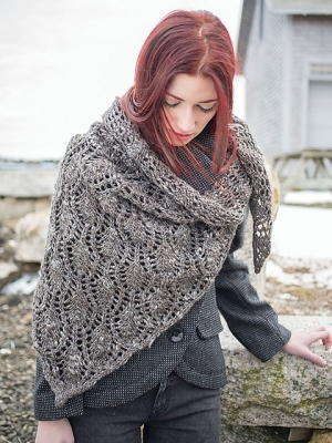Berroco Inca Tweed Tipperary Wrap Kit - Scarf and Shawls