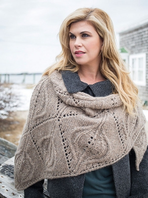 Berroco Kodiak Manila Wrap Kit - Scarf and Shawls