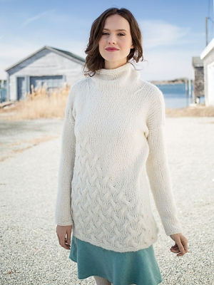 Berroco Kodiak Hagen Pullover Kit - Women's Pullovers