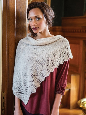 Berroco Andean Mist Millais Shawl Kit - Scarf and Shawls