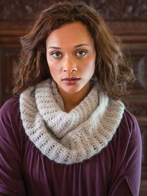 Berroco Andean Mist Wallis Cowl Kit - Scarf and Shawls