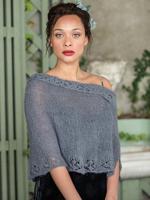 Berroco Andean Mist Swinburne Wrap Kit - Scarf and Shawls