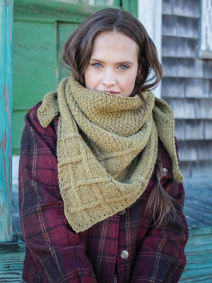 Berroco Blackstone Tweed Tancook Kerchief Kit - Scarf and Shawls