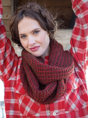 Berroco Ultra Alpaca Light Cornwallis Cowl Kit - Scarf and Shawls